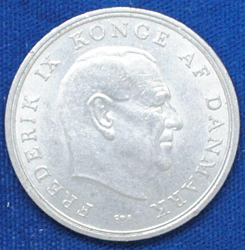 1971 Denmark 5 Kroner AU