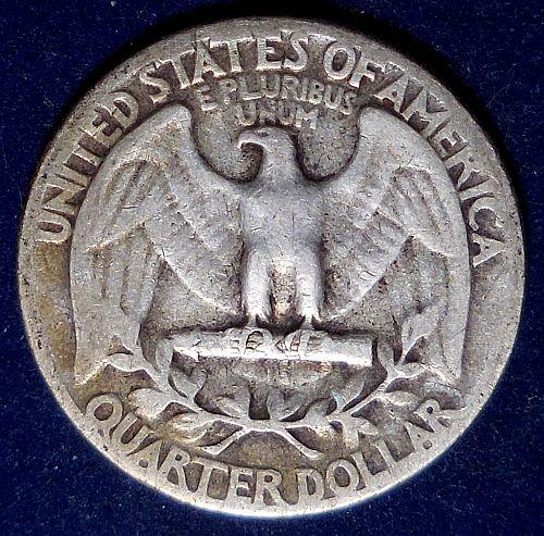 1946-P Silver Quarter