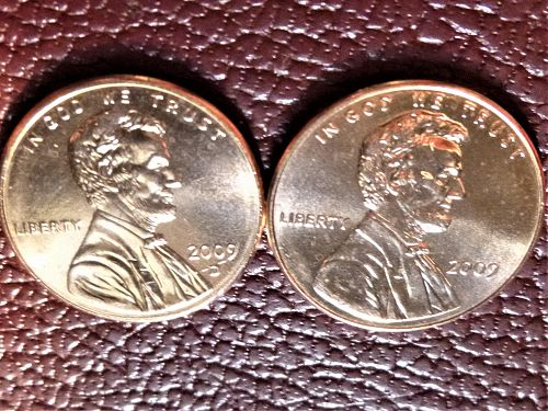 2009 P&D Lincoln Centennial Cents from Mint Rolls - Formative Years Indiana LP2