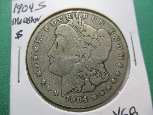 1904-S  VG8 Morgan Dollar.  Item: DM 04S-02.