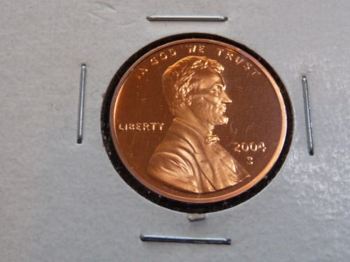 2004-S LINCOLN MEMORIAL CENT IN UNCIRCULATED PROOF CONDITION  L-11-20