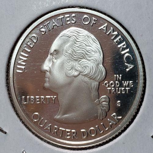 2005-S Silver Proof Oregon quarter