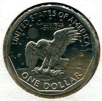 "19 - 1981- S  Susan B. Anthony Dollars  "" PROOF - B U ""  "" Type 1 """