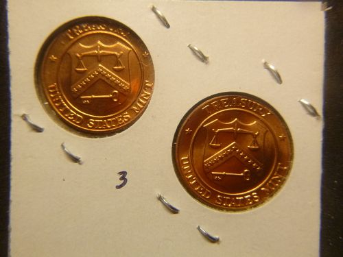 UNITED STATES MINT P&D MARKERS FOR MINT SETS