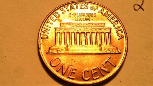 1970 S Lincoln Memorial Cent Small Date - High 7 - w/Reverse Die Clash