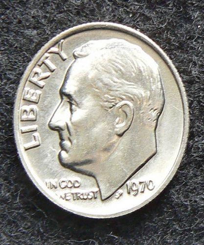 1970 P Roosevelt Dime