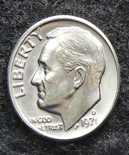 1971 D Roosevelt Dime