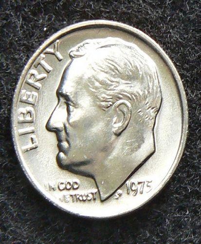1973 P Roosevelt Dime