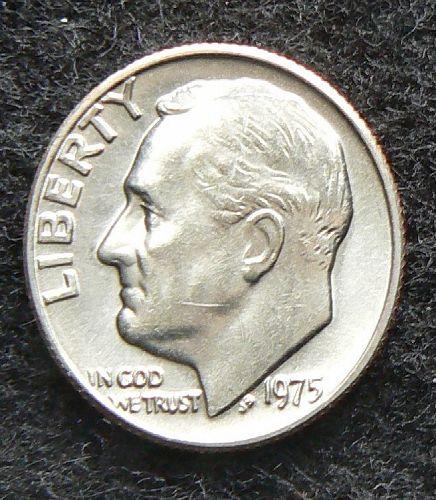 1975 P Roosevelt Dime