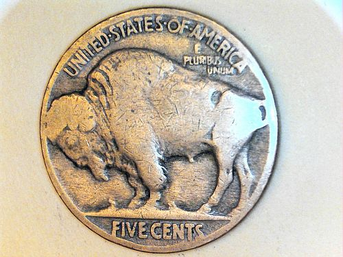 1926 P Buffalo Nickel---Very Good