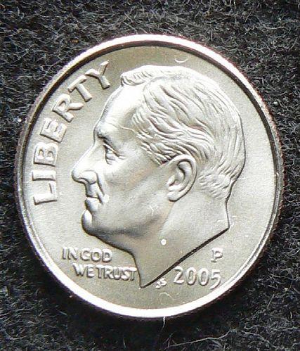 2005 P Roosevelt Dime