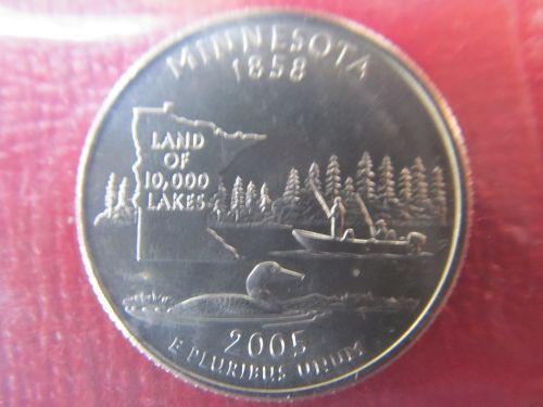 2005 D Minnesota 50 States quarter