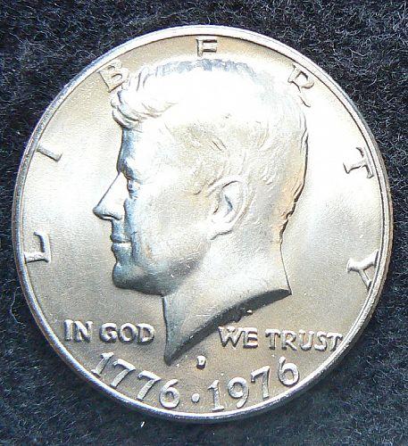 1976 D Kennedy Bicentennial Half Dollar