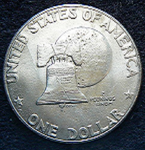 1976 D T1 Eisenhower Dollar