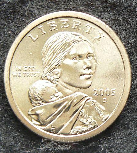 2005 D Sacagawea Dollar