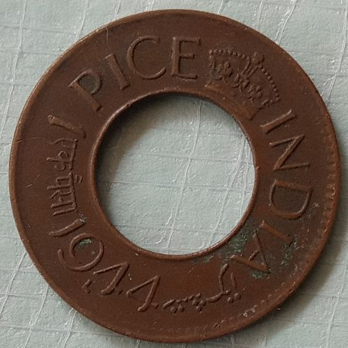 1944 Lahore mint.....India circulated..coin