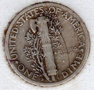 1940 S Mercury Dimes -#9f18
