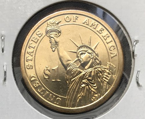 2009-D Uncirculated Presidential Dollar Coin---James K. Polk (0818-3)