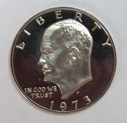 1973 S Proof Eisenhower Dollar
