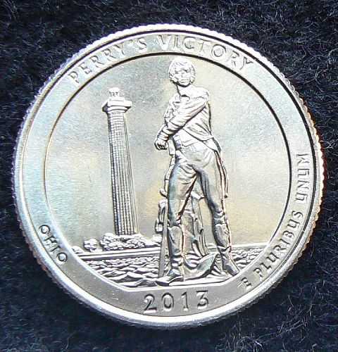 2013 D Perry's Victory and International Peace Memorial Quarter
