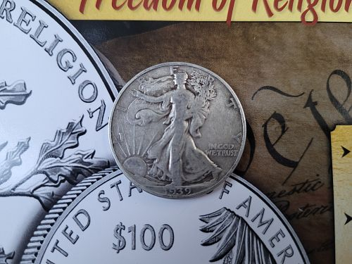1939-D Walking Liberty Half Dollar