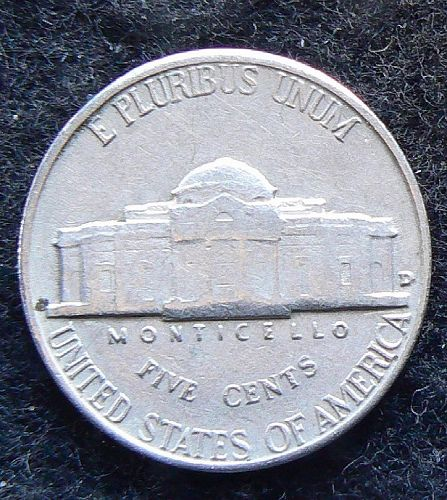 1959 D Jefferson Nickel (F-12)