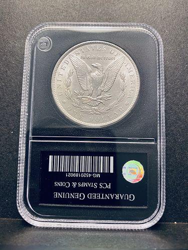 Genuine Uncirculated Morgan Silver Dollar 1896 P