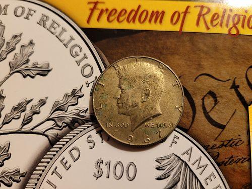 1967 Kennedy Silver Half Dollar