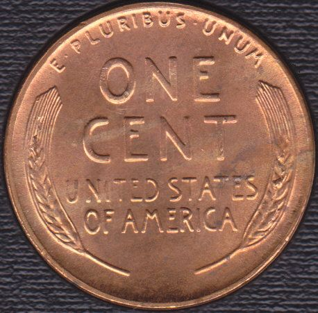 1955 S Lincoln Wheat Cent w/errors