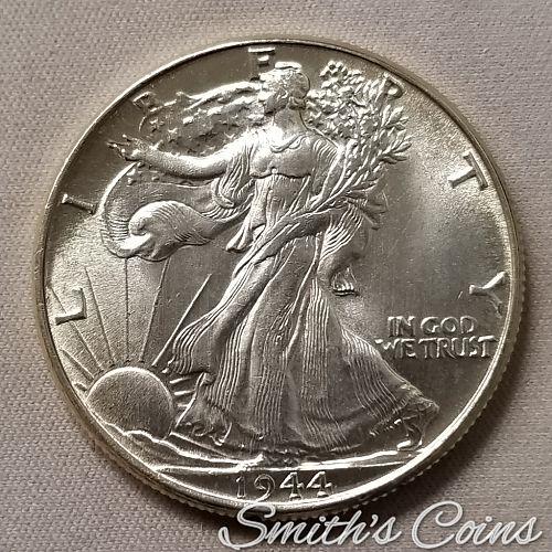 1944 ~ Walking Liberty Half Dollar ~ BU