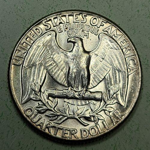 1960 TYPE B Washington Quarter MS-63 (Choice BU)