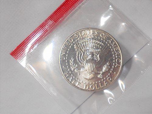 1995 D Kennedy half dollar in orig US Mint cello