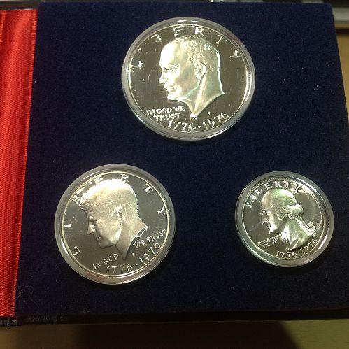 1976 S US Bicentennial Silver Proof Set