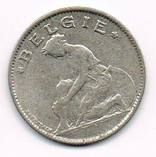 1 Franc - Albert I (Dutch text), Belgium , 1922