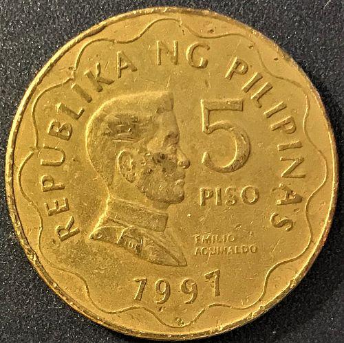 Philippines - 1997 - 5 Piso [#2]