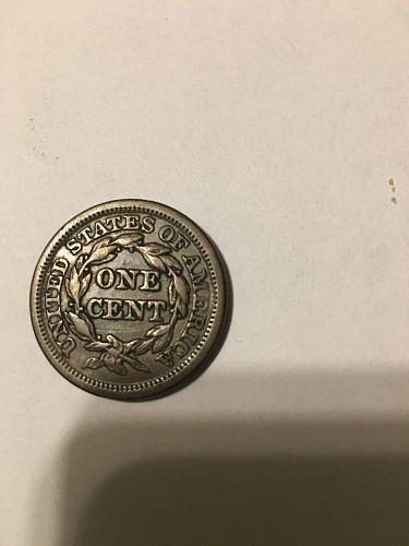 1846 Braided Hair Large Cent-VF