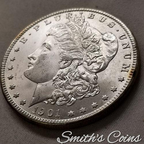 1901-O ~ Morgan Dollar ~ BU