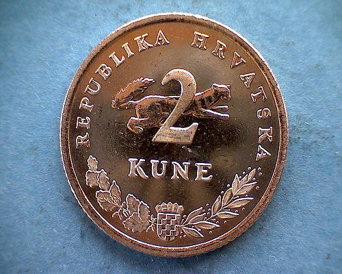 2017 CROATIA TWO KUNE