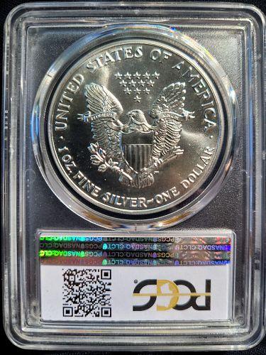 1992 Silver American Eagle PCGS MS69