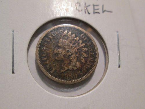 Laurel Wreath Reverse (1859) Indian Head Cent