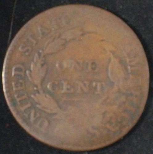 H. Rees Ctsmp on 1816 Large Cent Rulau HT-415B (Philadelphia)