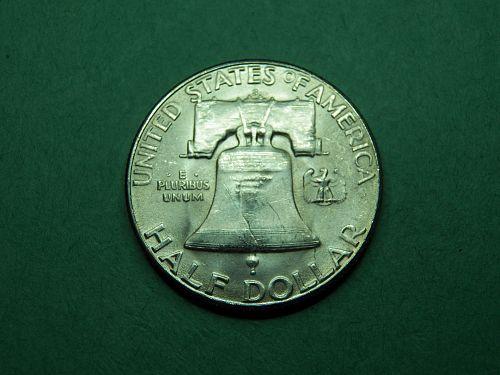 1953 S Franklin Half Dollar Gem Uncirculated Coin   z99