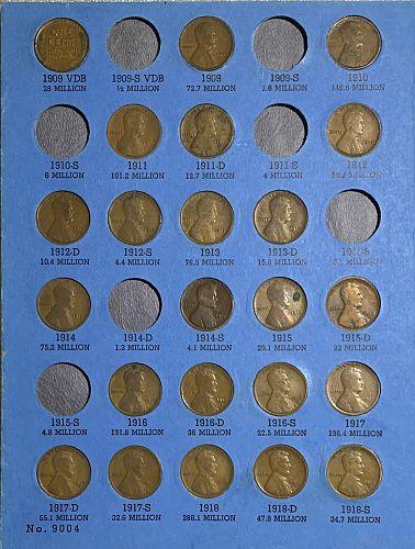 Whitman Wheat Penny Book One Album (1909-1940)