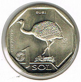 10 Coins Series: Endangered Fauna from Peru, Peru, 2017-2019
