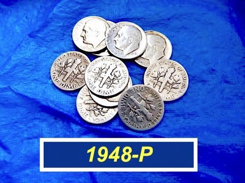 1948-P BU Dime  ⭐   Circulated  ⭐  (3328)
