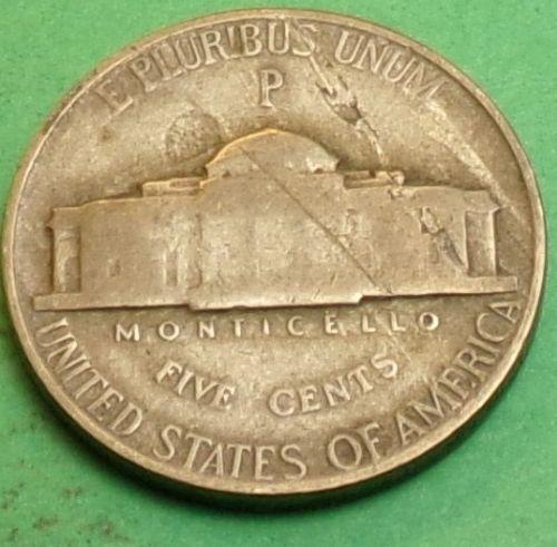 1944 P Jefferson Nickel