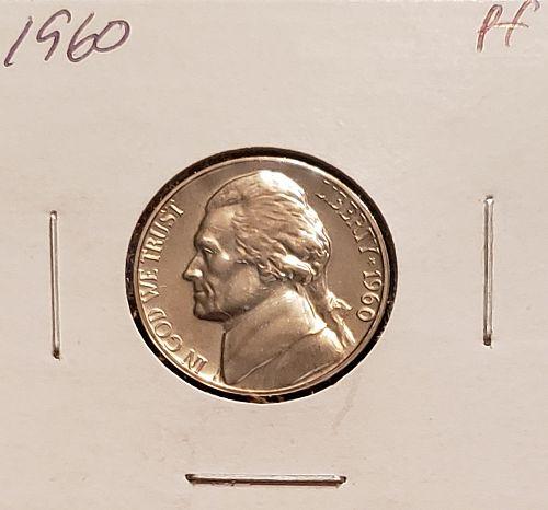 1960  Jefferson Nickel - Proof