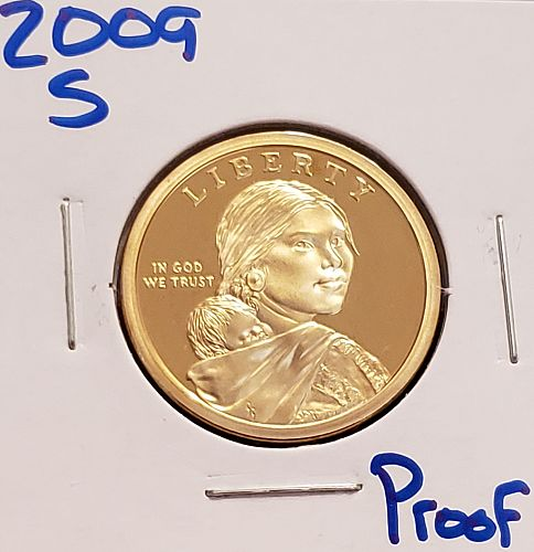 2009 -S Sacagawea Dollar: Spread of Three Sisters Agriculture - Proof