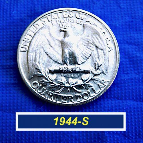 1944-S  Sparkling Quarter ⭐️  Uncirculated  ⭐️  (2.12)