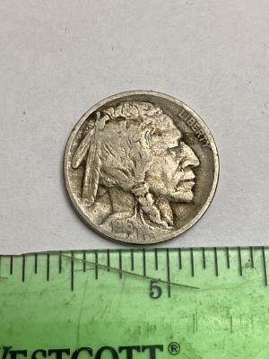 1916P Buffalo nickel